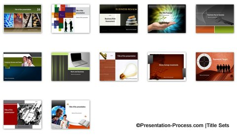 Power point templates sets business powerpoint titles toneelgroepblik Gallery