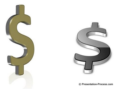 Create Stunning 3d Dollar Signs In Powerpoint