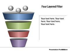 3d PowerPoint funnel diagram