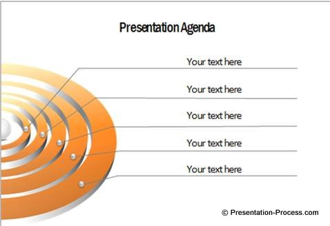 Presentation Agenda PowerPoint Diagram
