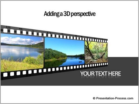 3D PowerPoint Timeline Template