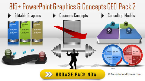 Editable PowerPoint Graphics CEO Pack 2