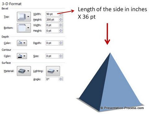3d powerpoint pyramid in 4 easy steps, Modern powerpoint