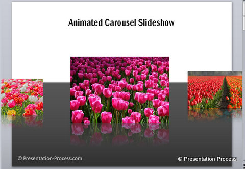 animated slideshow in PowerPoint