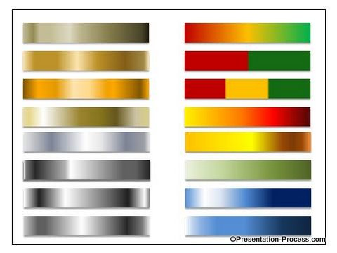 Custom Made Gradients in PowerPoint