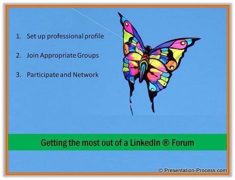 slide design for presenting ideas