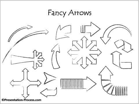 bonus  powerpoint hand drawn design elements
