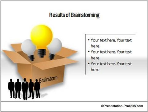 Amazing bulb diagram in powerpoint 2010 brainstorming powerpoint charts ceo pack ccuart Image collections