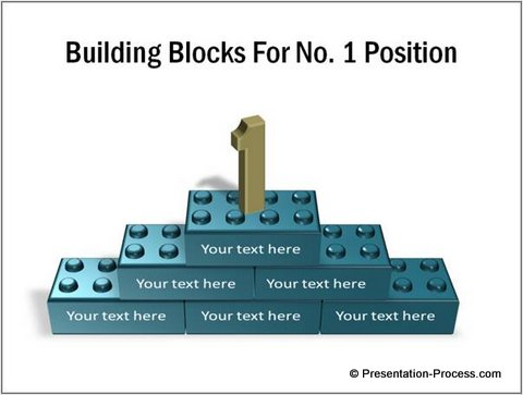 Create 3d lego blocks in powerpoint applications of lego block in business slides ccuart Images