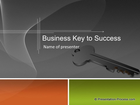 Business Key to Success Slide