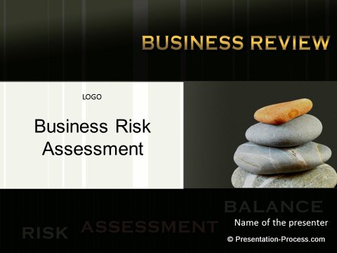 Risk Assessment Title Slide