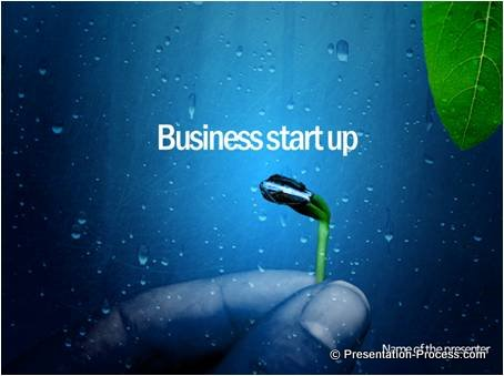 Business Start Up Title slide