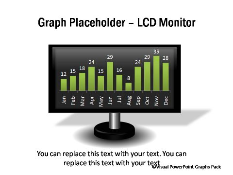 LCD Monitor PlaceHolder for Graph