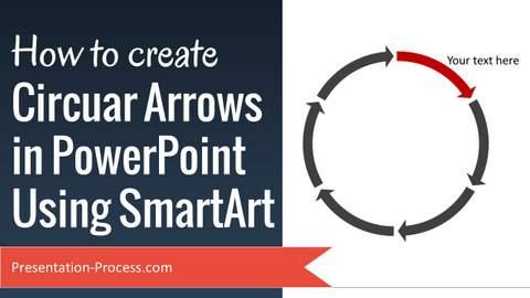 Circular Arrows Using SmartArt video