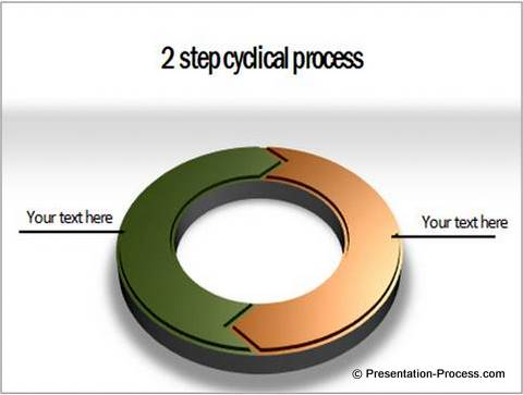 circular powerpoint arrows
