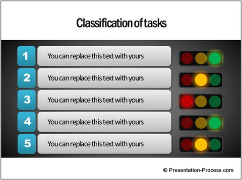 Classifying Tasks