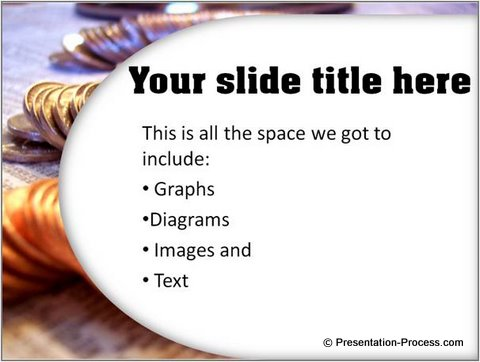 Complex PowerPoint Slide Background