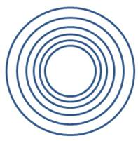 Aligned Concentric Circles