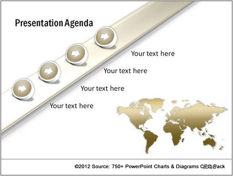 Creative Agenda Slide from CEO Pack