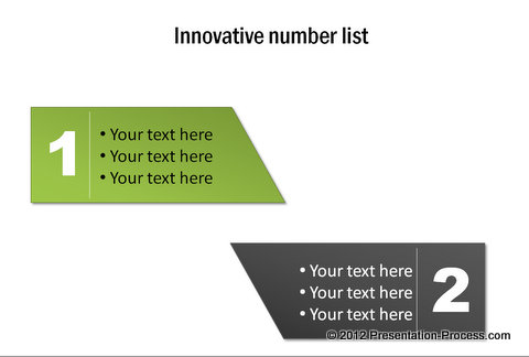Sample Innovative Lists from CEO Pack