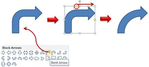 create custom arrow in powerpoint 2010, Powerpoint templates