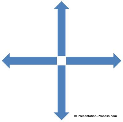 Arrows in Different directions