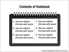 Learning template Notebook