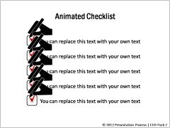 Animted Checklist
