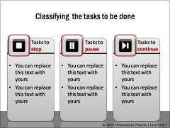 Buttons for Task Classification 1
