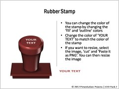 Rubber Stamp Options