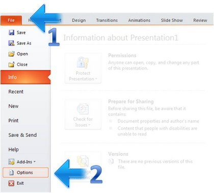 How to Set Up Quick Access Toolbar in PowerPoint
