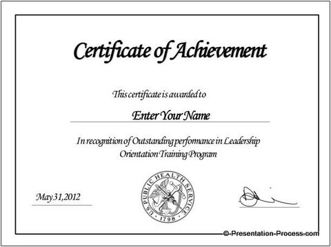 Create printable certificates in powerpoint in a jiffy final powerpoint certificate toneelgroepblik Gallery