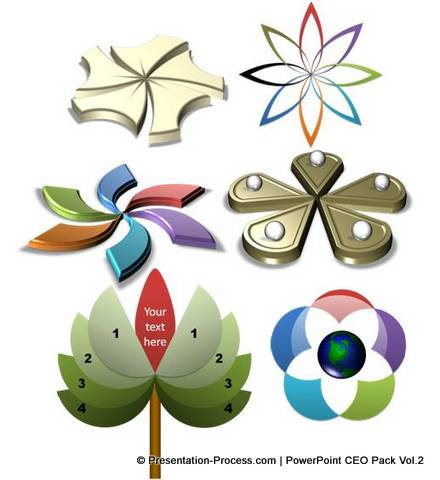 Flower Diagrams Collection from CEO Pack 2