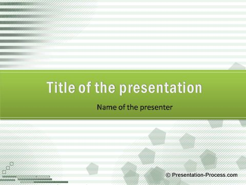 Using the right colors in powerpoint presentations free green lines powerpoint title set toneelgroepblik Images