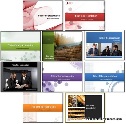 Free PowerPoint Title sets