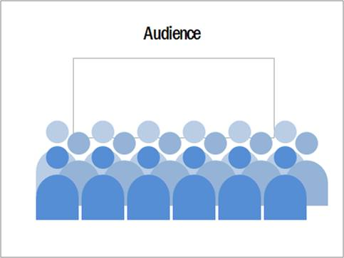 group audience icons in powerpoint