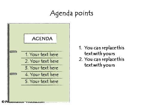 agenda bullets