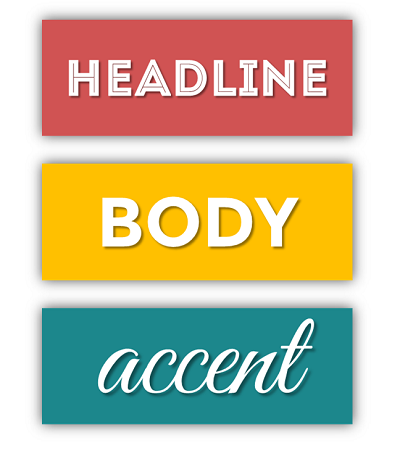 Headline Body and Accent Colors