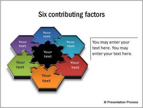 Creative Hexagon in PowerPoint
