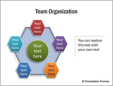 Hexagon Showing Team Organization from CEO Pack 2