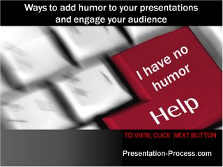 6 Ways Presentation Humor Sample Image