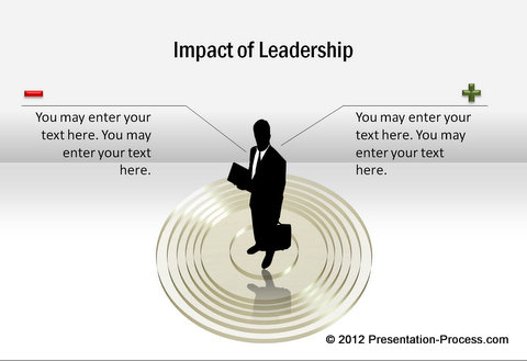 Leadership diagram template from CEO pack