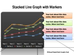 Line Chart Templates for PowerPoint
