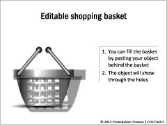 Editable Shopping Basket