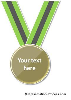 Medal in PowerPoint
