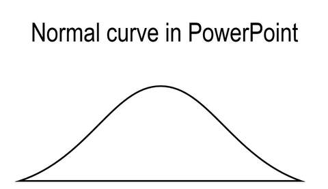Normal Curve in PowerPoint