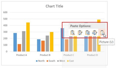 Paste Chart as Picture