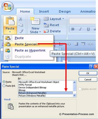 Paste Special PowerPoint Tips