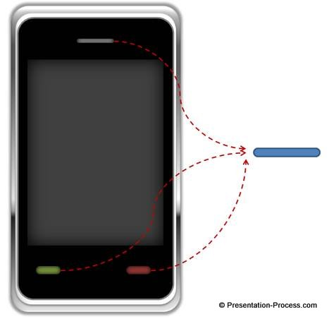 Phone Pictograph Tutorial PowerPoint