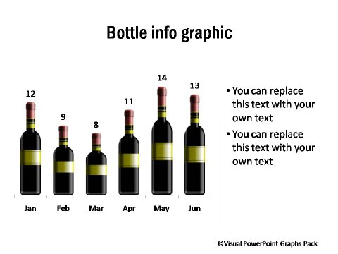 Pictogram Showing Bottle Info graphic